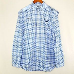 Vineyard Vines Harbor Shirt Long Sleeve Vented L
